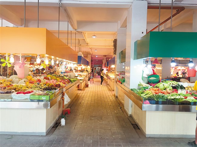 农贸综合市场_东龙村的两个农贸市场也将率先成为农村地区的大型农贸市场综合购物